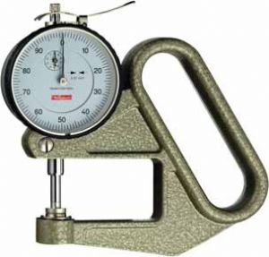 KÄFER Dial Thickness Gauge J 50 with Lifting Device - Reading: 0.01 mm